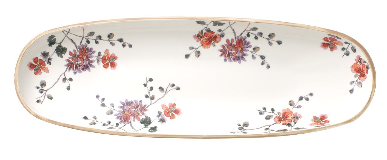 Art.prov.verd. fruit bowl 55x17cm