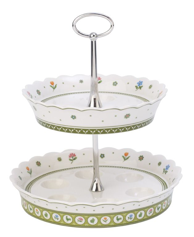 Farmers spring egg tray stand