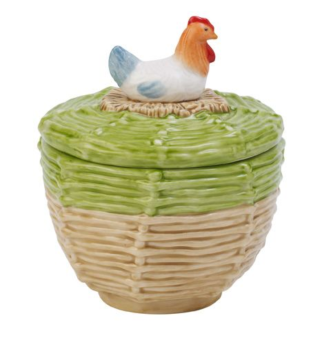 Farmers spring hen sugar bowl
