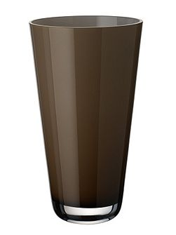Verso vase sweet caramel 250mm.