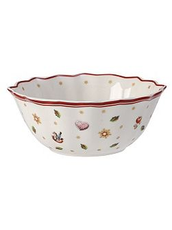Toy`s delight christmas bowl small 15cm