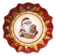 Toy`s Fantasy Lrg Bowl Santas Story Time 24.5cm