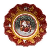 Toy`s Fantasy Sml Bowl Santas Story Time 16.5cm