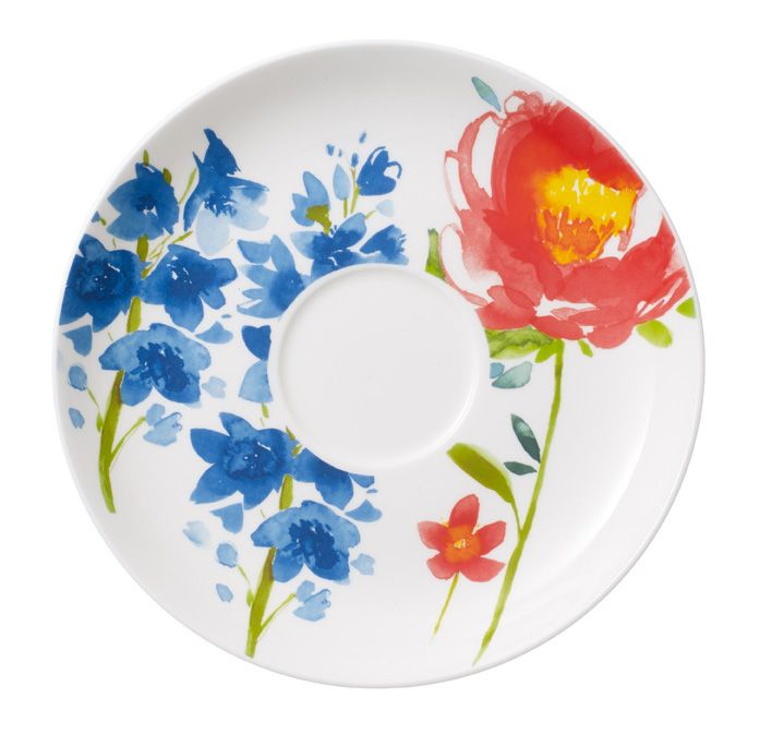 Anmut flowers saucer breakfast cup 17cm