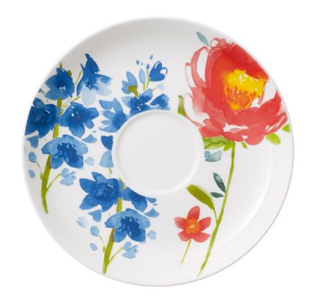 Villeroy & Boch Anmut flowers breakfast cup saucer 17cm