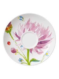 Anmut flowers coffee cup saucer 15cm