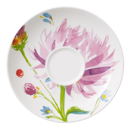 Villeroy & Boch Anmut flowers coffee cup saucer  15cm