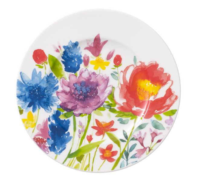 Anmut flowers bread&butter plate 16cm