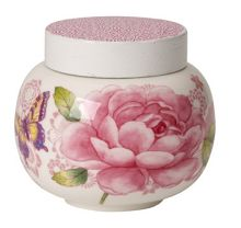 Villeroy & Boch Rose cottage covered sugar bowl 0.36l