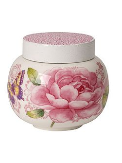 Rose cottage covered sugar bowl 0.36l