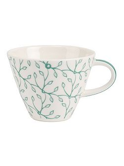 Caffe club floral peppermint coffee cup 0.22l