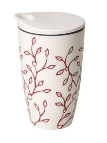Caffè club floral berry coffee to go mug 0,35l