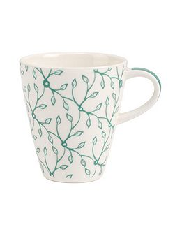 Caffe club floral Peppermint Mug Small