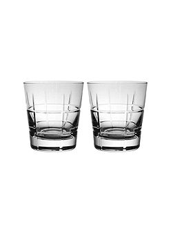Ardmore club old fashioned 2 piece tumbler set