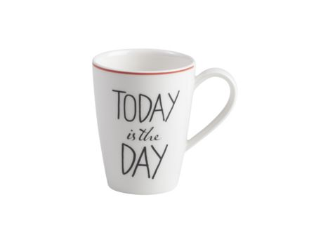 Vivo Vivo by v&b. quotes mug 0,30l today i.the day