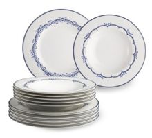 Gallo by v&b. daily blue dinner set 12pcs.