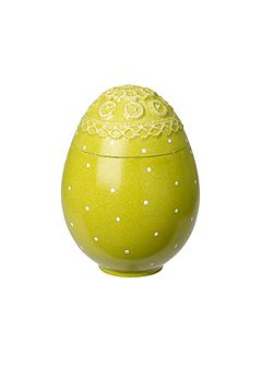 Spring decoration egg box green ornament