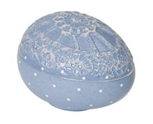 Spring decoration egg box blue ornament