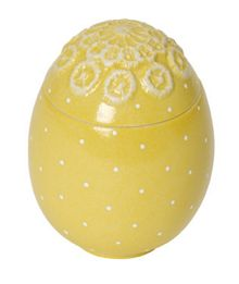 Spring decoration egg box yellow ornament