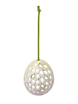 Mariefleur spring egg ornament drop