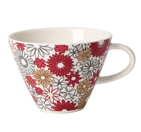 Villeroy & Boch Caf.club fiori white coffee cup 0.39l