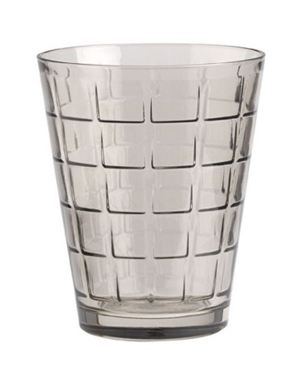 Villeroy & Boch Dressed up water glass quad smoke