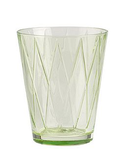 Dressed up water glass rhombus l.gr.