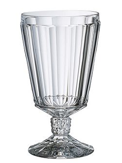 Charleston water goblet