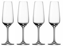 Vivo by v&b. voice basic champagne flutes x4