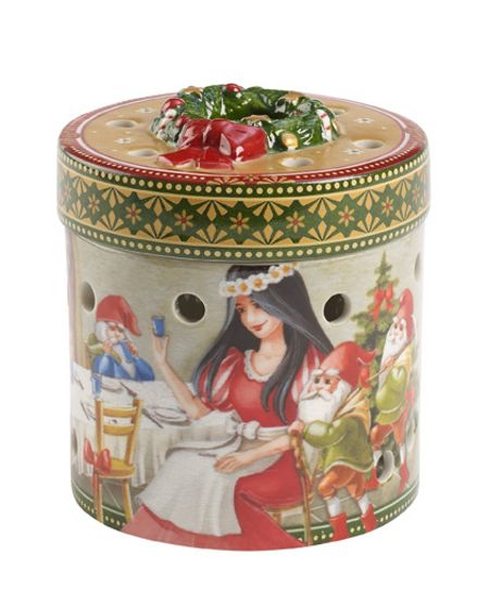 Villeroy & Boch Christmas Toys Gift box small, round Snow White