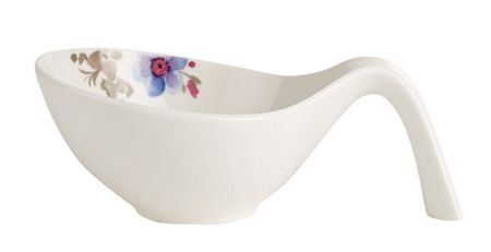 Villeroy & Boch Mariefleur gris gifts bowl with handles