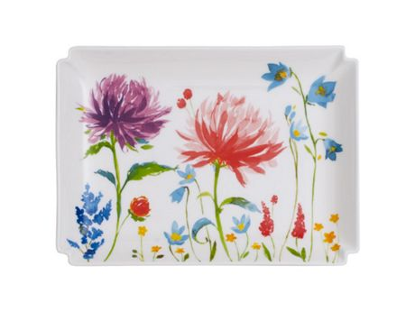 Villeroy & Boch Anmut flower gifts decorative plate