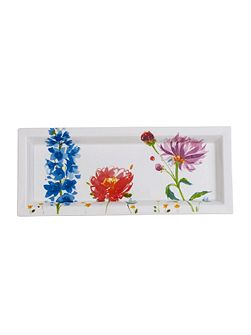 Anmut flower gifts rectangular bowl 25x10cm