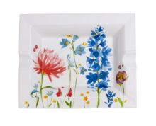 Villeroy & Boch Anmut flower gifts ashtray 17x21cm