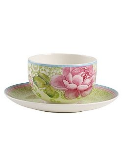 Rose cottage green tea cup 0.37l