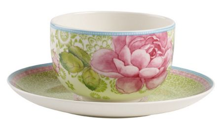 Villeroy & Boch Rose cottage green tea cup 0.37l
