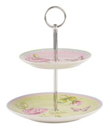 Villeroy & Boch Rose cottage mini cakestand