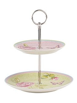 Rose cottage mini cakestand