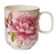 Rose cottage pink mug 0.35l
