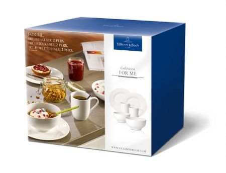 Villeroy & Boch For me breakfast-set 2 pers.