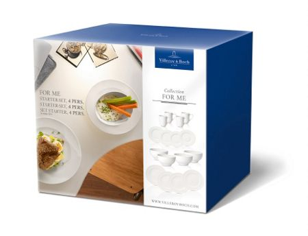 Villeroy & Boch For me starter-set 4 pers.