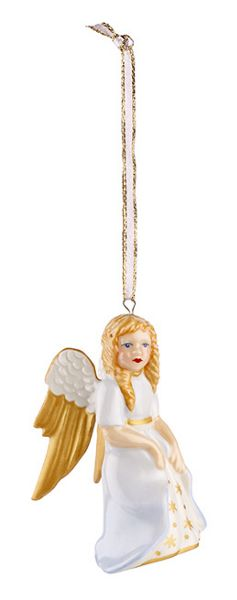 Villeroy & Boch 2016 edition angel hanging ornament
