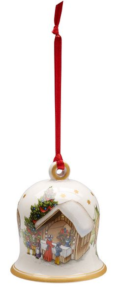 Villeroy & Boch 2016 edition bell hanging ornament