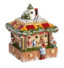 Villeroy & Boch Christmas market toy stand ornament