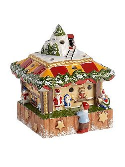 Christmas market toy stand ornament