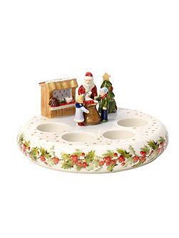 Advent crown tealight holder ornament