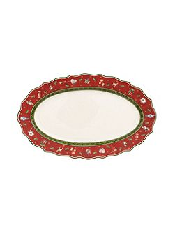 Toys delight small serving dish