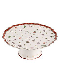 Toys delight small footed cake plate