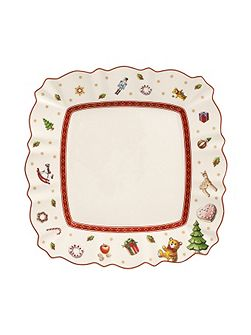 Toys delight square salad plate