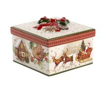 Villeroy & Boch Medium square christmas market ornament